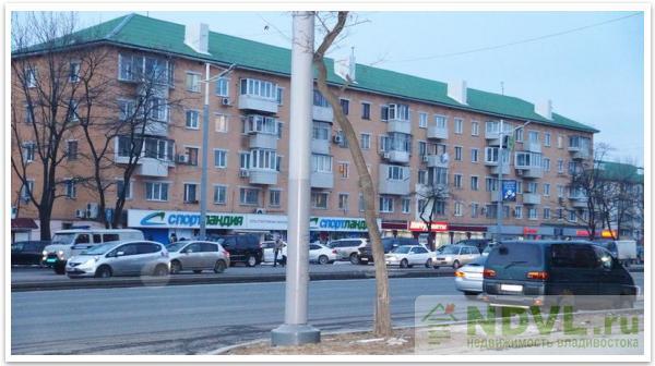 Владивосток, пр-т 100-летия, 51. 2-к квартира.