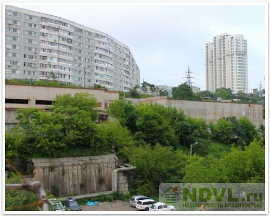 Владивосток, ул. Некрасовская, 52. 1-к квартира. Вид из окна