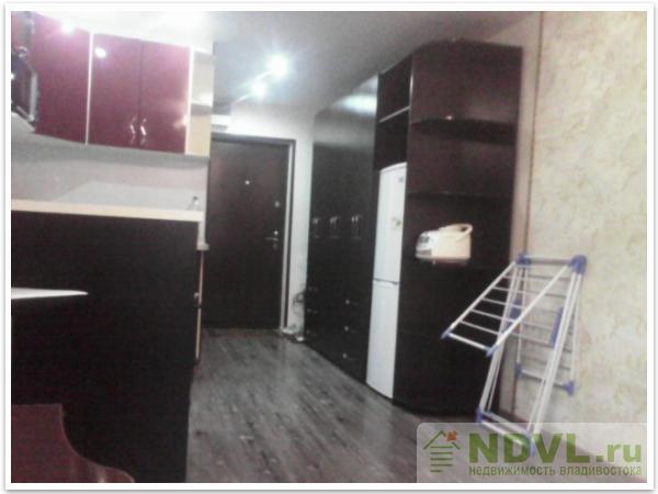 Владивосток, ул. Некрасовская, 52. 1-к квартира. Интерьер