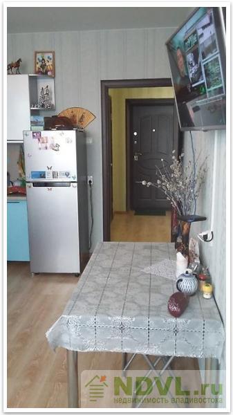 Владивосток, ул. Надибаидзе, 17. 1-к квартира. Интерьер