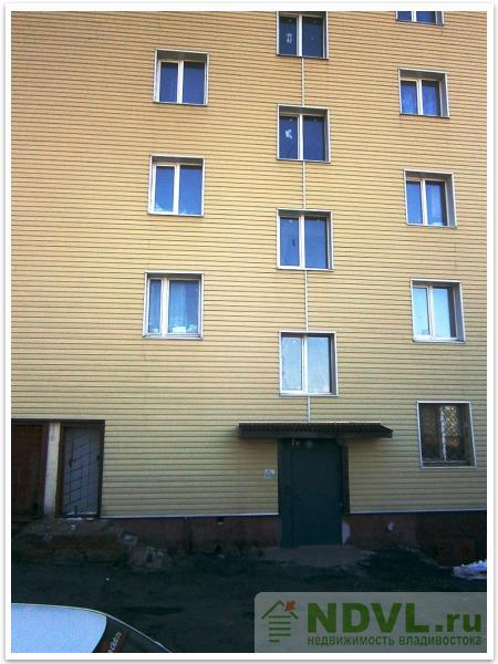 Владивосток, ул. Пологая, 55. 3-к квартира. Дом снаружи