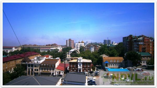 Владивосток, ул. Пологая, 55. 3-к квартира. Вид из окна