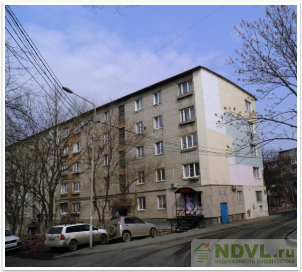Владивосток, ул. Нахимова, 2. гостинка. Дом снаружи