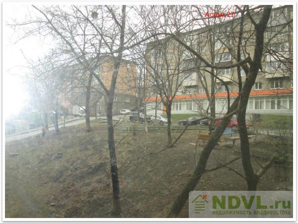 Владивосток, ул. Саратовская, 10. 1-к квартира.